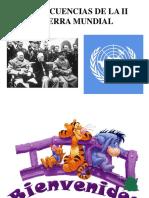1 Consecuencias de La II Guerra Mundial