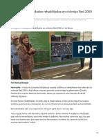 29-10-2018 - Entrega CPA Vialidades Rehabilitadas en Colonias Red 2000 y 4 de Marzo - Uniradionoticias