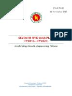 7th Five Year Plan(Final Draft).pdf