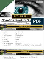 ODS Keratitis Pungtata Superfisial