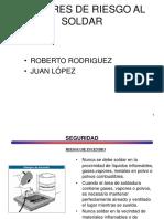 Factores de Riesgo Al Soldar
