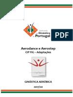 Adaptacoes Aerodance & Aerostep 2017-20 Alterações a Amarelo