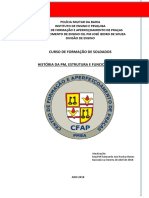 2018 Apostila História Pmba -Cfsd- Word
