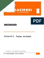 Ficha 5 Diseño de Instalación Contra Incendio