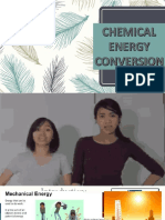 chemical energy conversion