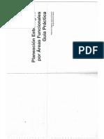 Planeacion Estratégica Por Areas Funcionales