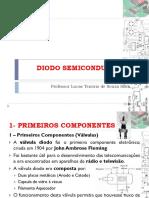 4 - Disp Eletrônico - IfBA - Introdução de DIODO