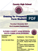 Open Evening PPP UPDATED 2017