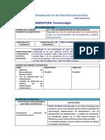secuencia didactica esther farmacologia