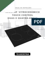 Manual Fogão Tramontina VitroCerâmico