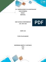 Fundamentos y Generalidades de La Investigacion 1