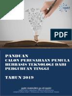Buku Panduan CPPBT 2019