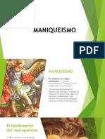 MANIQUEISMO DIAPOSITIVAS