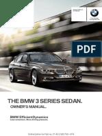 3 Series Sedan 2014-Updated Om