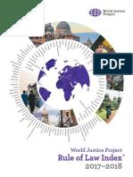 El informe del World Justice Project sobre justicia