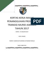 Kertas Kerja Program Transisi 2017