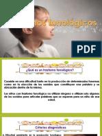 Trastorno fonologico