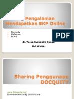 Sharing Pengalaman SKP Online