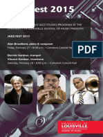 Jazz Fest-2015 Program