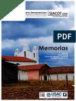 Libro de memorias 18° SIACOT