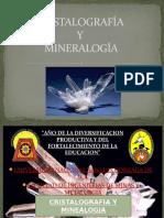 Cristalografía y Mineralogia