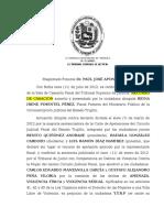 Sentencia de La Sala Penal Num 291 de Fecha 03-08-2013