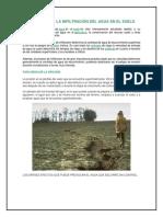 IMPORTANCIA DE LA INFILTRACIÓN DEL AGUA EN EL SUELO.docx