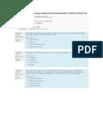 Quiz Fase 3 PLANIFICACIÓN, PROGRAMACIÓN Y CONTROL DE PROYECTOS