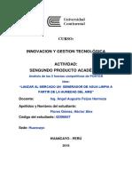 Pa2 5fuerzas Competitivas de Porter Ucci Innovacion Tecnologica Ing Industrial