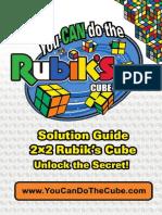 Rubiks 2x2 Solution Guide