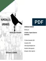 Humedales Urbanos - Guia de Aves Concepcion
