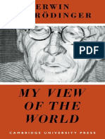 My View of the World Schrodinger