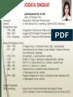 Biodata Singkat Aryanthi Baramuli Putri