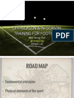 Off Seasonin Seasontrainingforfootball