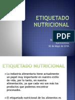 Etiquetado Nutricional 02-05-2018