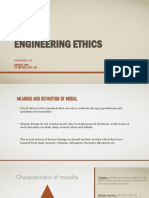 Engineering Ethics - Moral