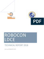 Robocon LDCE 2018 Technical Report