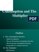 Consumption Function & Multiplier
