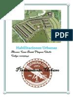 Habilitacion Urbana