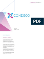 Condeco 3.2 User Manual
