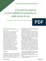 Teoria de Receptores - melatonina