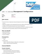 It Service Management Configuration