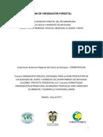 Plan de Ordenación Forestal