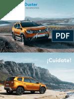 Cat Logo Duster Accesorios 2018