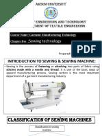U-5 Sewing Technology