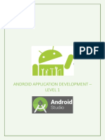 Android Application Development - Level 1