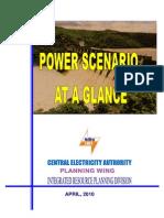 Power Scenario at a Glance_April 2010