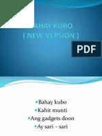 Bahay Kubo ( New Version )