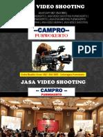 [Profesional] Jasa Video Shooting Banjarnegara, 0821 3543 9895