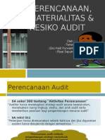 Ppt Materialitas Dan Risiko Audit Gab